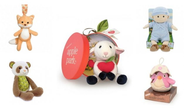 Organic plush toys that are ripe for the picking