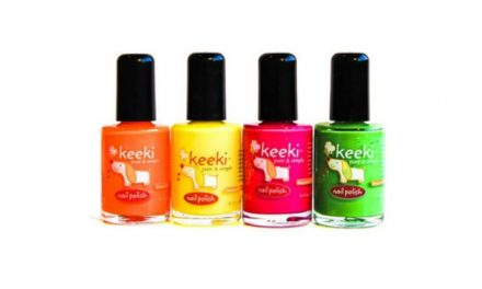 The perfect kids' nail polish for prima-donnas and eco-mommas alike