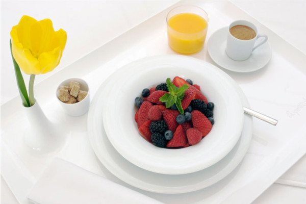 Breakfast in Bed! : Le Petit Dej' breakfast tray