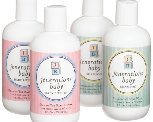 Jenerations baby natural baby shampoo and lotion