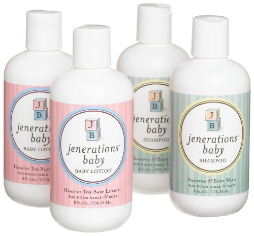 Jenerations baby natural baby shampoo and lotion