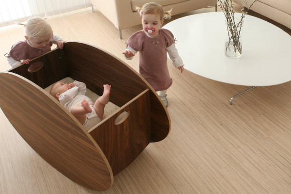 So-Ro Modern Cradle on Cool Mom Picks