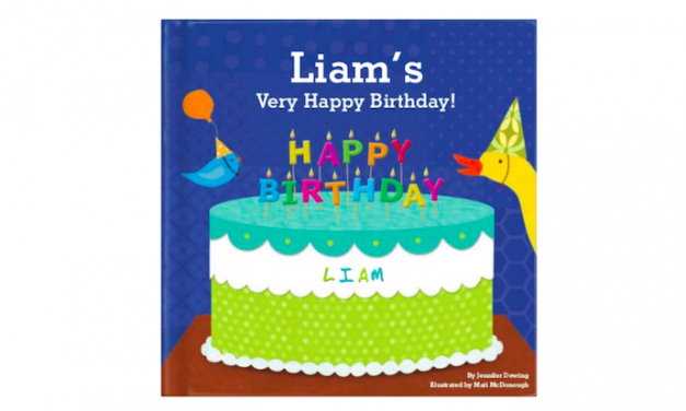 Custom birthday books for kids that are beyond adorable
