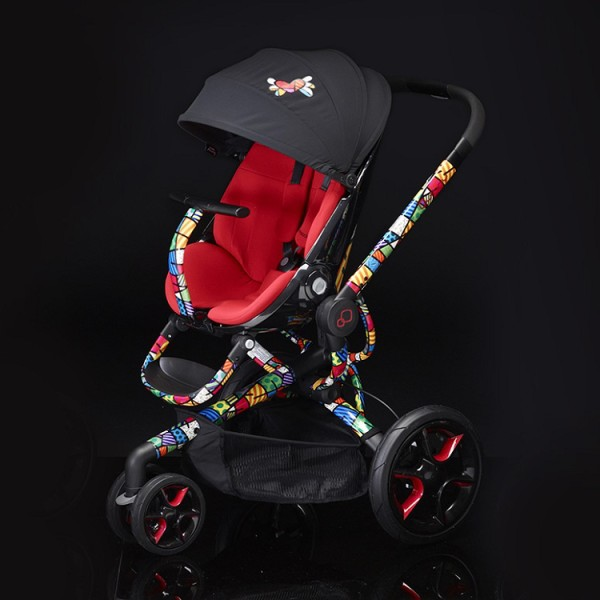 Romero Britto stroller on Cool Mom Picks