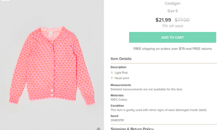 ThredUp reinvents itself and now buying discount designer kids clothes–or selling them–is a joy