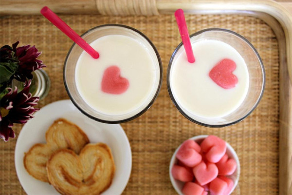 Valentine's Day breakfast recipe ideas