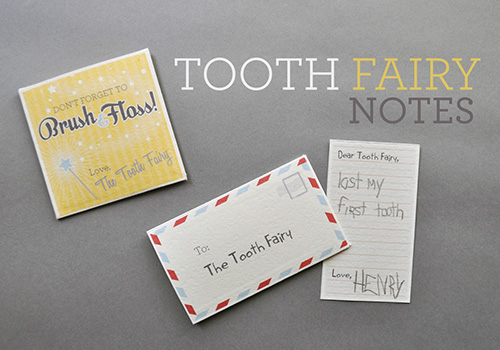 DIY Free Printable Tooth Fairy Notes – oh the cuteness!