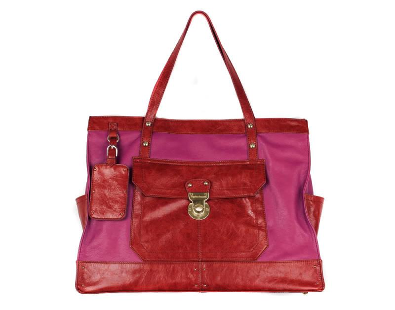 Colorblock handbags from Hayden-Harnett – be still my heart