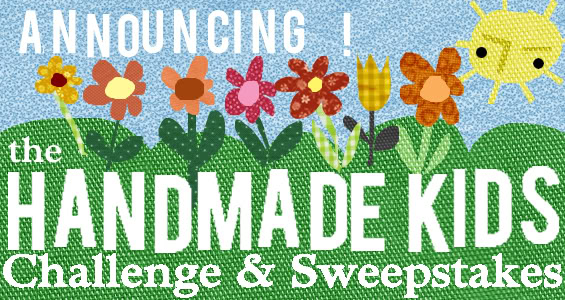 The etsy Handmade Kid Challenge – also a challenge for us parents