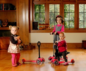 The best scooter for little kids? The one that's the best for big kids.