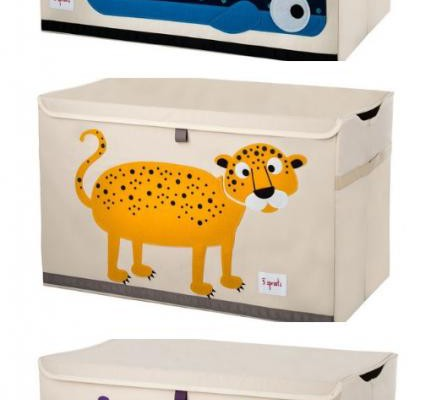 3 Sprouts Fabric Toy Chest for Kids | Cool Mom Picks