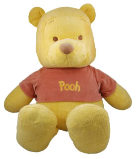 Your favorite silly old Pooh bear is now a soft, organic Pooh bear