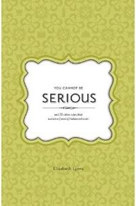"""You Cannot Be Serious"" is a seriously great parenting book"