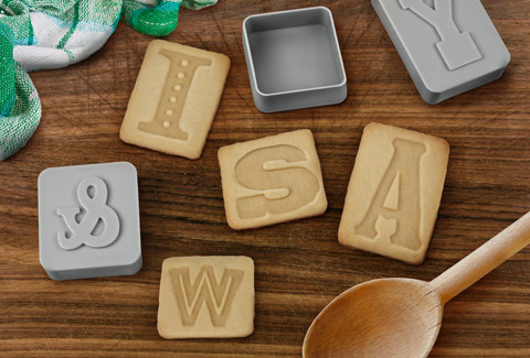 Alphabet awesome: cookie cutters as easy as A-B-C