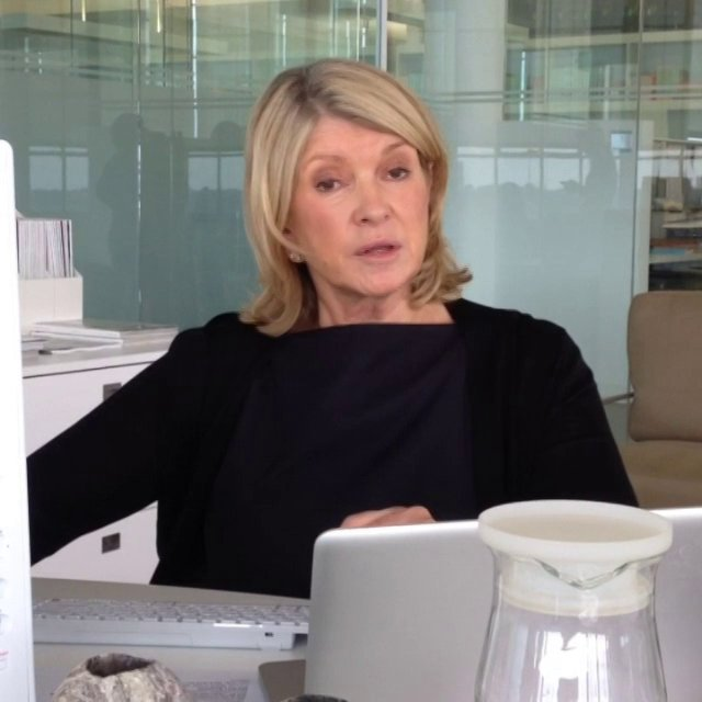How do you store towels and sheets? Martha Stewart knows!