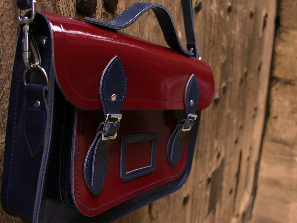 The new Cambridge Satchel: be still my colorblock-loving heart
