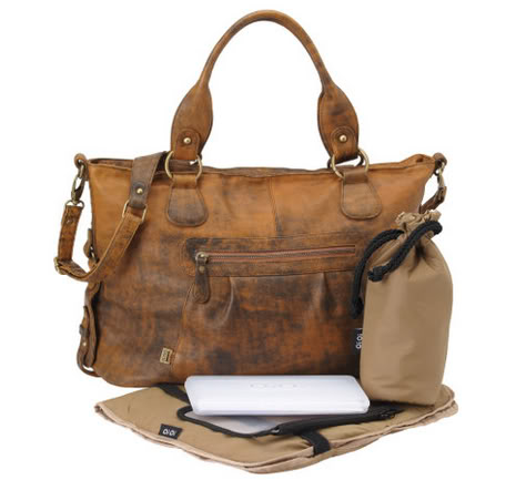 A designer diaper bag that feels like fall | Cool Mom Picks