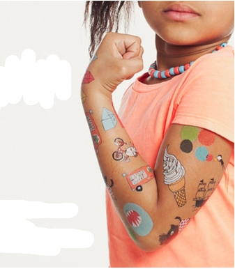 Tattly tattoos just got 100% cooler. Because they're 50% off.