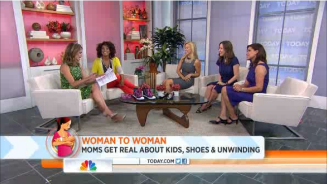 Liz Gumbinner of Cool Mom Picks talks kids and high heels with the TODAY Show