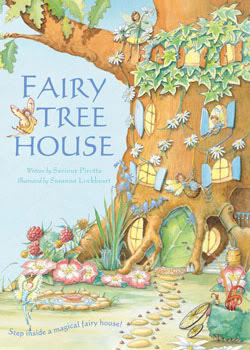 Fairy Tree House, actual size. Or so I'm told.