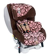 The Britax Advocate CS: Car seat safety gets more attractive than it already is.