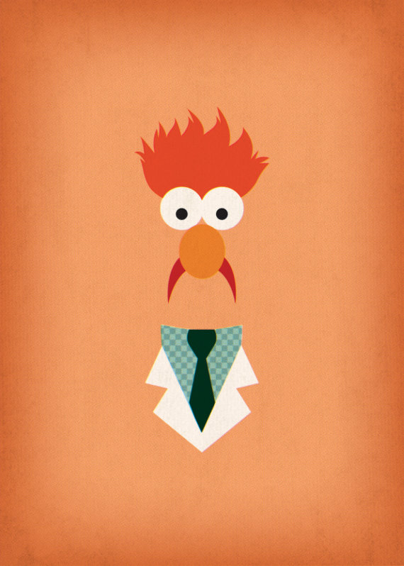 Muppets go modern with the coolest prints for your nursery