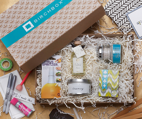 Birchbox Home arrives, whoa! A new reason to stay in on Friday nights