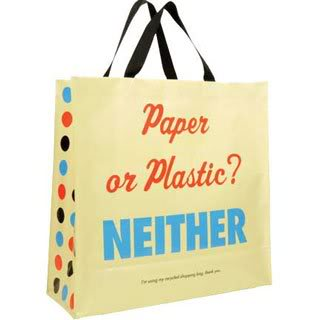 Paper or plastic? No thanks.