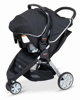 Britax makes that car seat to stroller dance so much easier