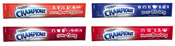 Like, totally tubular! A new, lower sugar on-the-go kids yogurt.