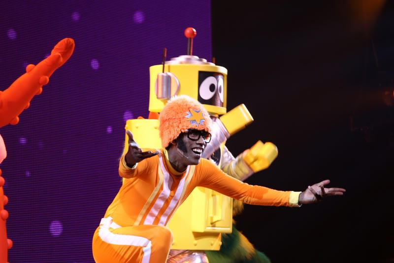 Yo Gabba Gabba! Live! At Radio City! And why can't I stop using these exclamation points!
