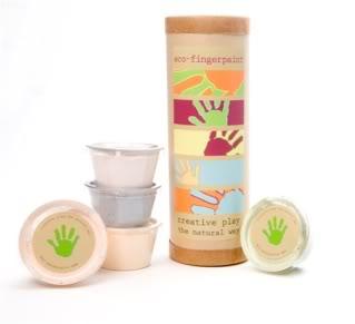 Eco-Fingerpaints inspire a hair less dread than ordinary fingerpaints