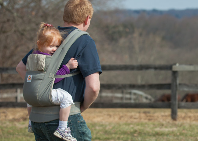 Ergobaby X-tra: The baby carrier we love now with a little extra awesome.