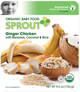 Gourmet organic meals for the teething set