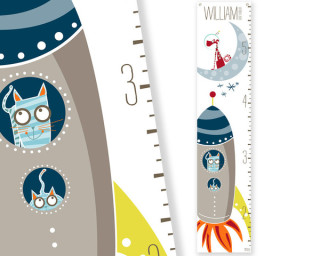 Reach for the stars: galactic growth charts track rocketing kiddos