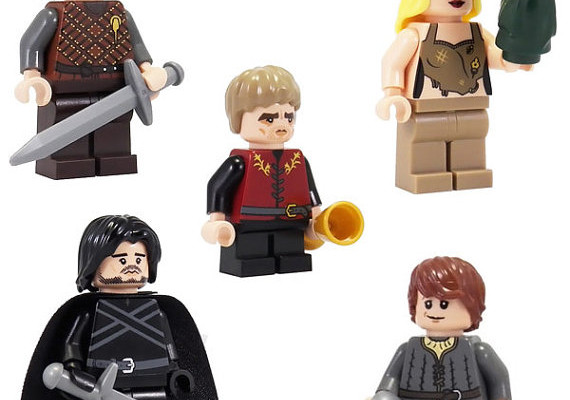 Throne of Bricks LEGO minifigs | Cool Mom Picks
