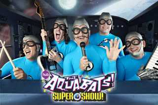 Fighting evil with rock 'n' roll, Aquabats style