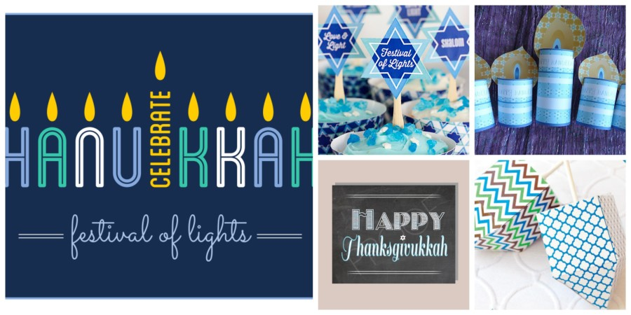 The brightest and best Hanukkah printables for this year's Festival of Lights