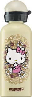 Hello Kitty the water bottle, inspired by Hello Kitty the now retro-cool icon