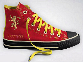 Game of Thrones Converse! Pledge your royal allegiance with your feet
