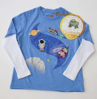 Changeable shirts for kids with changeable minds