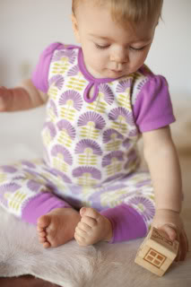 The new Petunia Pickle Bottom layette is here. Just in time for spring!