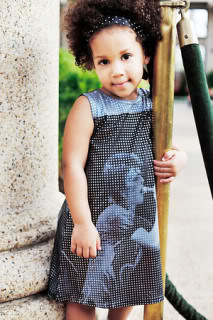 Eco-friendly kids' clothes meet funky pop art