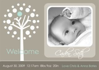 Announcing the easier birth announcement