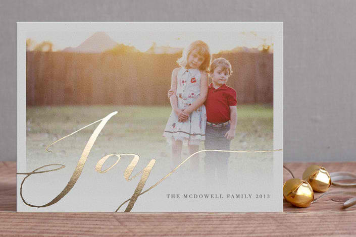Holiday card guide: 6 beautiful, foil-pressed options for every style