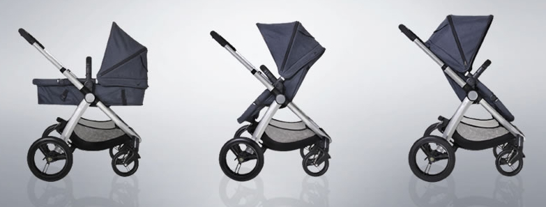 The Mountain Buggy Cosmopolitan Stroller is a seriously posh ride