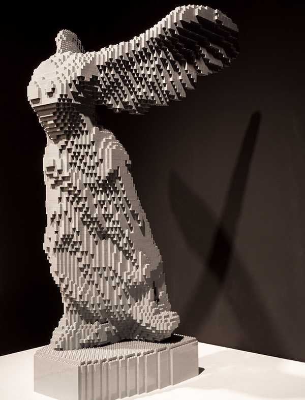 LEGO: The Art of the Brick. And by art, we mean whoa.
