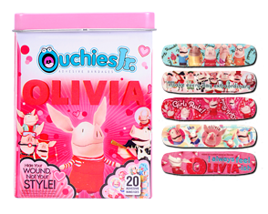 Kids bandages that make you go Yay! A boo-boo!