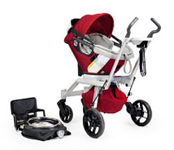 The Orbit Baby Travel System – life changing! Especially if your life is just a few weeks old.