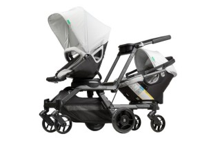 The new Double Helix double stroller from Orbit is one far-out ride
